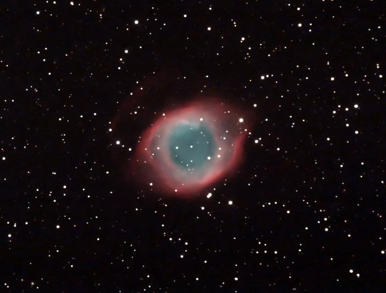 Caldwell 63 - NGC7293 - Helix Planetary Nebula - 26/9/2014 (Processed cropped stack)