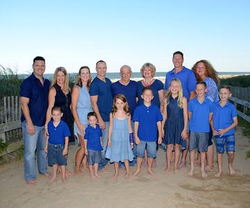 La Bella Family Beach Portraits July 31, 2017