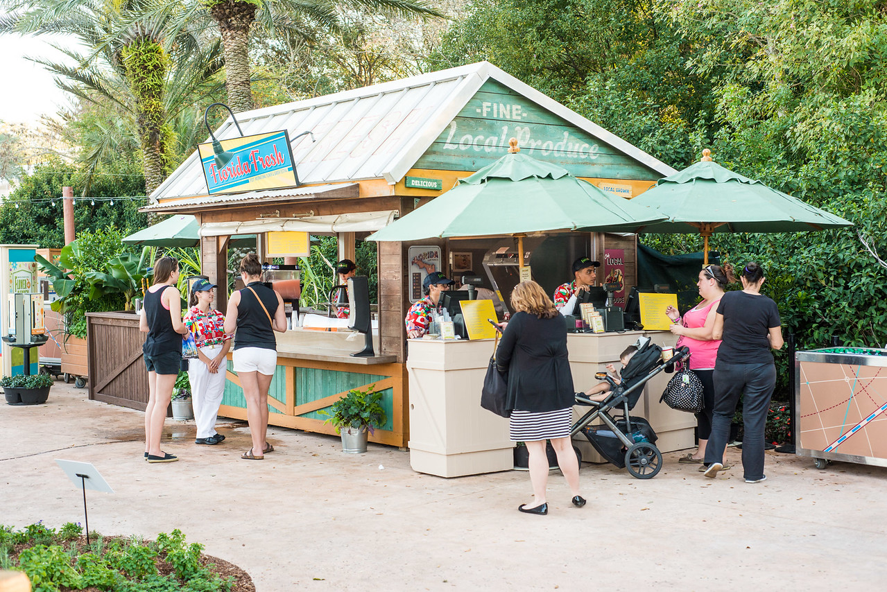 Florida Fresh Food Kiosk - Epcot Flower & Garden Festival 2016