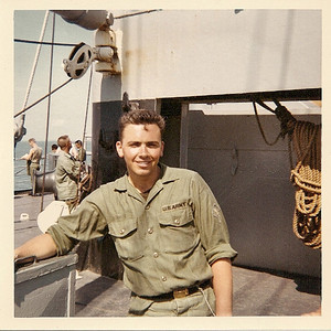 aboard the General John Pope in San Francisco Bay-April 1967