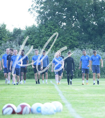 Gainsborough Trinity Training 30th June