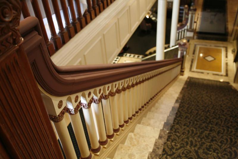 Driskill staircase detail