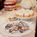 Candy bars, cupcakes and strawberry short cake are common alternatives to a wedding cake. - The Casual Gourmet, Cape Cod Wedding Caterer