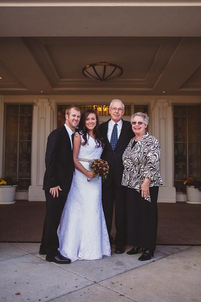 Brandon & Kaylin Rexburg Temple Wedding