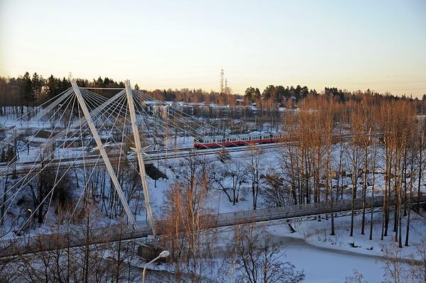 Having fun in Finland