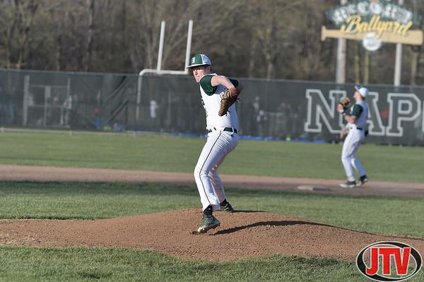 Baseball Clinton at Napoleon High School for 04-16-2021