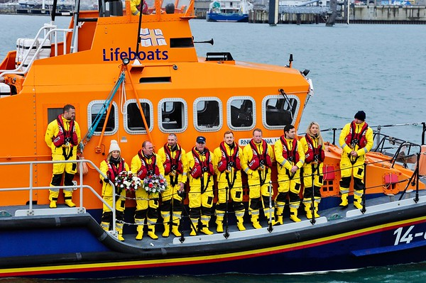Dun Laoghaire RNLI Annual Commemoration for lives lost at sea.