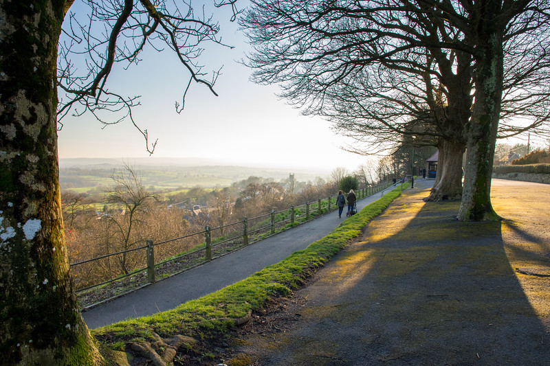 Park Walk in Shaftesbury