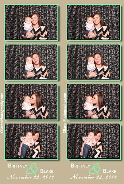 Brittney + Blake Swanky Photobooth