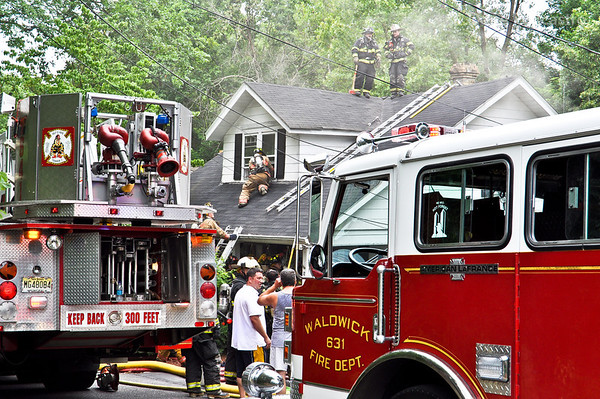 7-10-10 Waldwick, NJ 2nd Alarm: 12 Dow Avenue