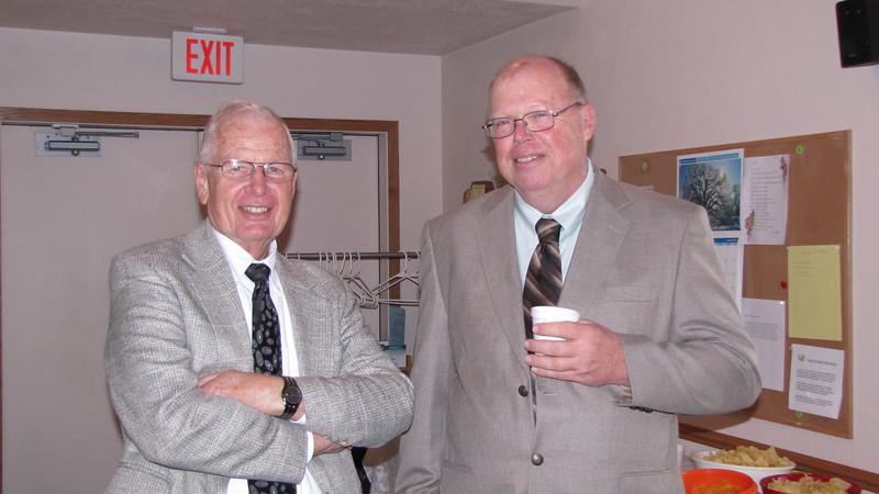 Jerry Buehler and Warren Phillips