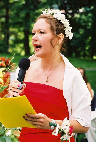 The Bride Speaks