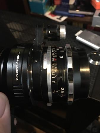 unprocessed - schneider-kreuznach xenon 50mm 1.9 exakta mount
