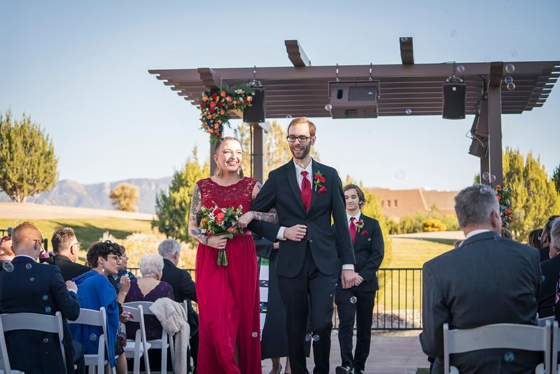 Sandia Hotel Casino New Mexico October Wedding Ceremony C&C-58.jpg