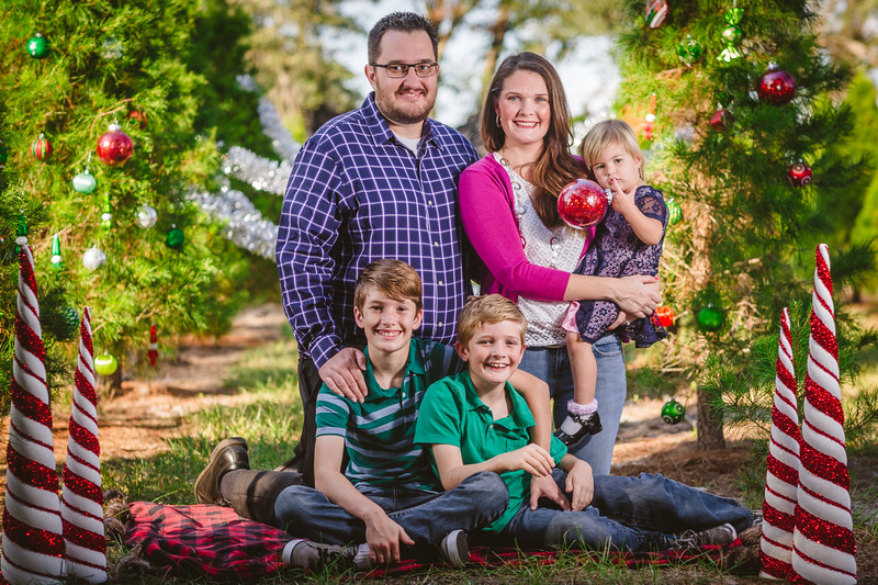 McDaniels Family Christmas Mini
