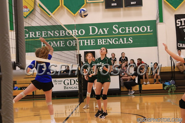 MS GREEN VOLLEYBALL VS CALDWELL  10-09-2018