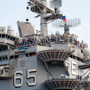 Tiger Cruise - USS Enterprise