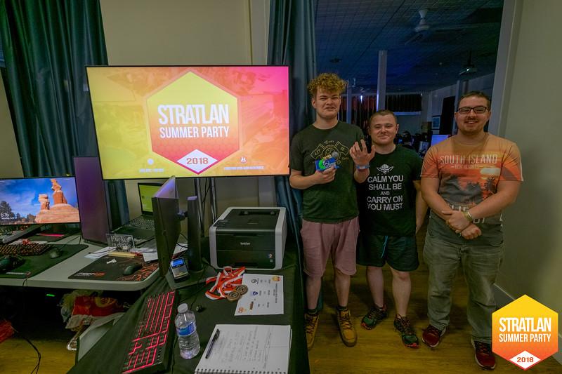 StratLAN Summer Party 2018 - Mathew Burnett
