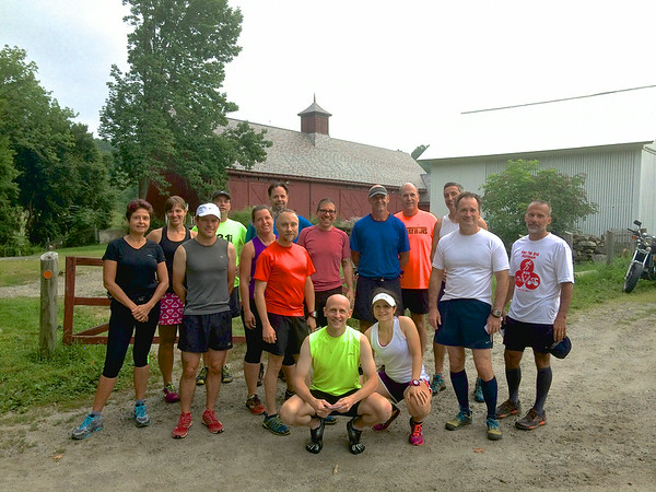 July 27, 2014 - Run The Farm Course Check