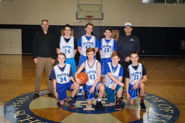 2016-17 7th Boys hoops