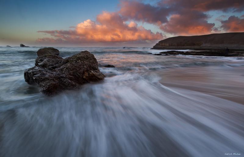 Greyhound Rock, Santa Cruz, California