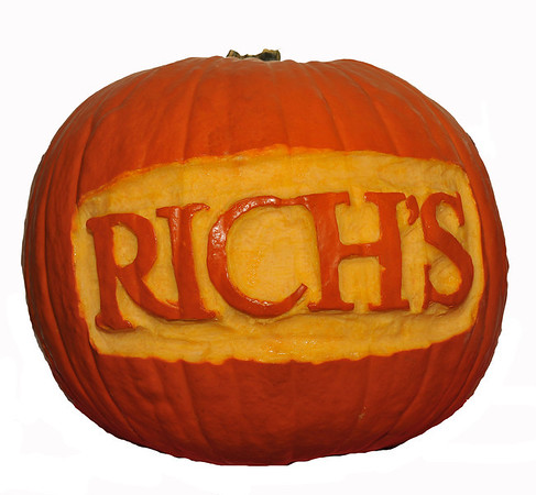 Pumpkins at Rich's 2013