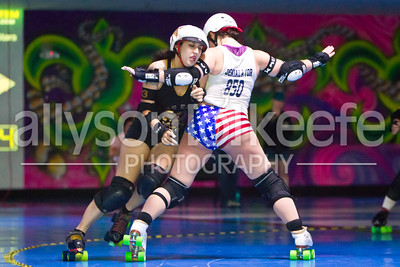 Big Easy Rollergirls vs. NWAR