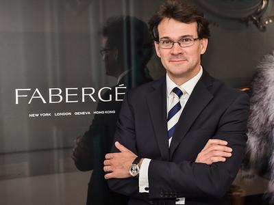 Sean Gilbertson, Faberge CEO