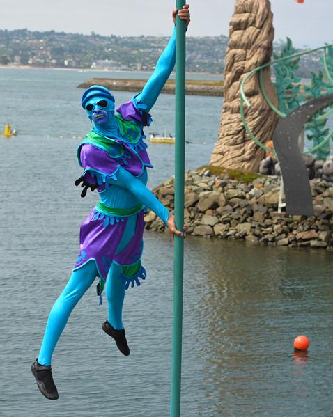 Seaworld Manta Cirque