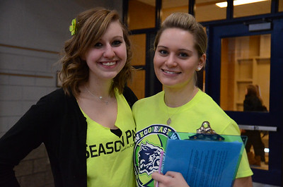 Oswego East Pep Assembly 02-07-14