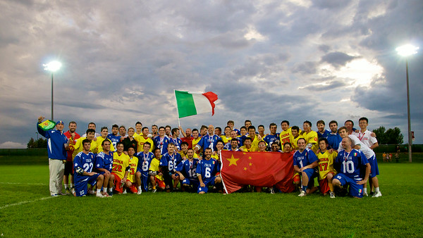 Game Two China 5 vs Italy 18 Saturday July 12