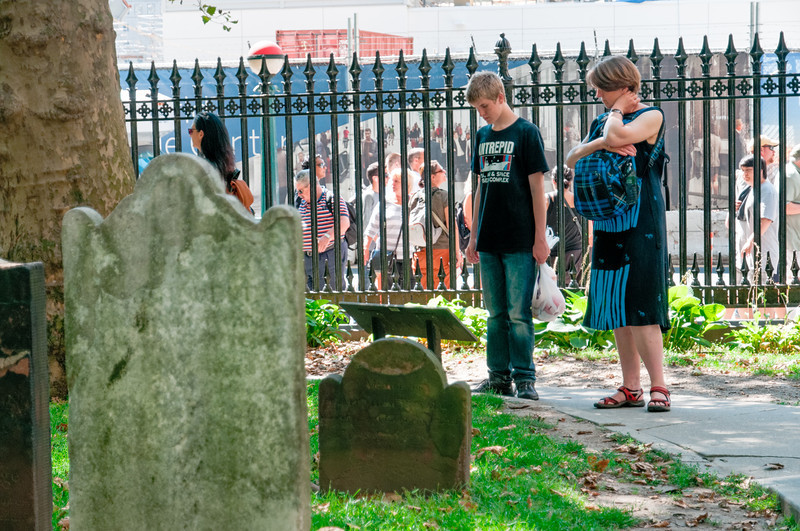 Der Friedhof einer kleinen Kapelle direkt am Ground Zero.