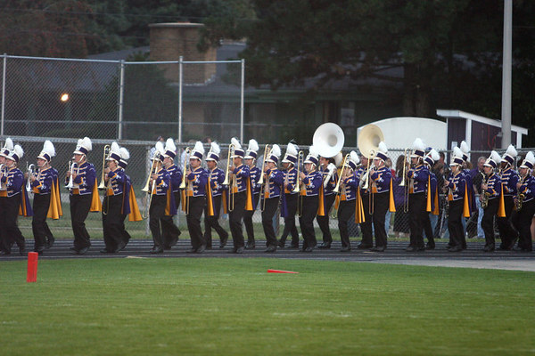 RTHS MARCHING BAND PREFORMS @ FOOTBALL WEEK TWO