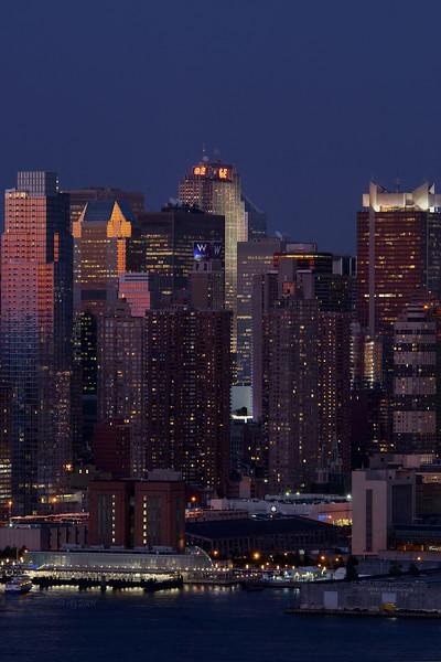 New York Skyline, GE Building