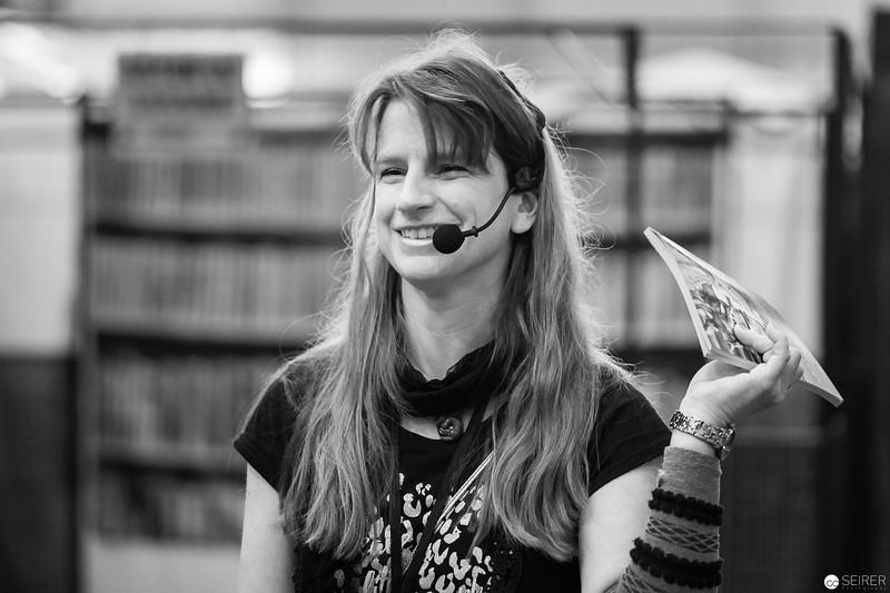 Lesung von Manuela P. Forst auf der Vienna ComicCon 2018