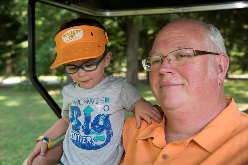 Pap and Caleb in Golf Cart.jpg
