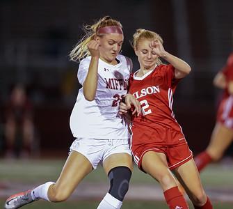 10/21/2020 Wilson Girl's Soccer vs Gov. Mifflin
