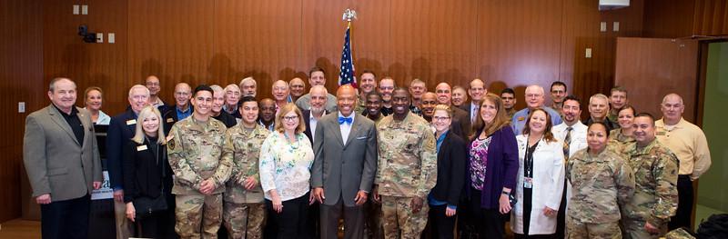 Army Visits Gordon Center