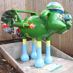 Shaun in the City - Heritage Trail - 18 July 2015