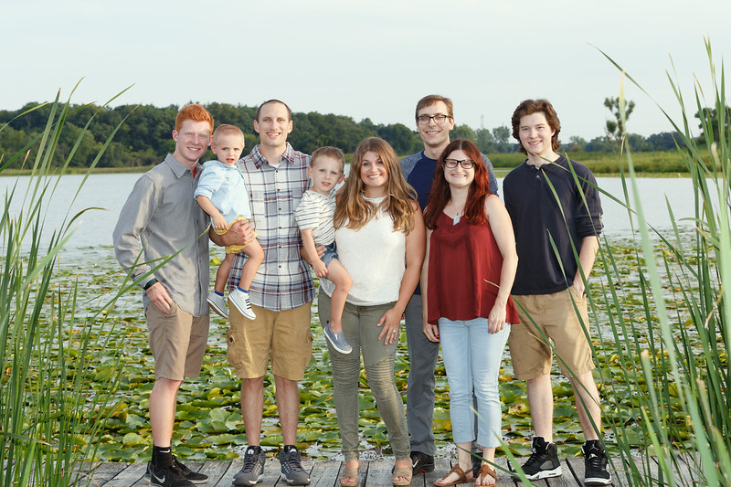 Family Portraits at Moraine Hills State Park, McHenry