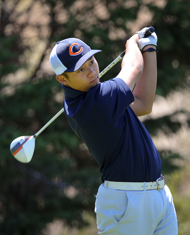 . Chaminade\'s Justin De Los Santos, Golfer Of The Year.  (Michael Owen Baker/Staff Photographer)