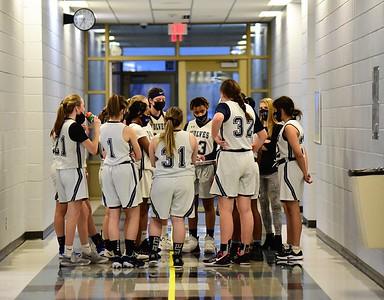 OE Girls Freshman Basketball Vs Minooka 2021