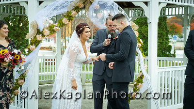 Wedding at Horseshoe Lake, Succasunna NJ, by Alex Kaplan Photo Video Photobooth