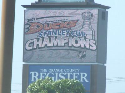 Anaheim Ducks Celebration - 6/9/07