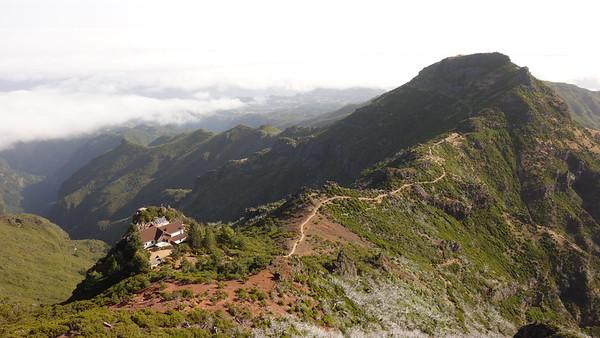 2019.10 Pico do Arieiro to Pico Ruivo