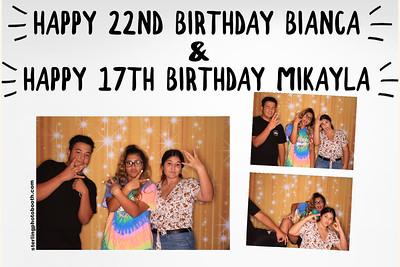 Happy Birthday Bianca & Mikayla
