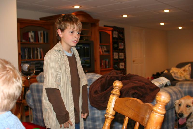 Caleb is growing up!
