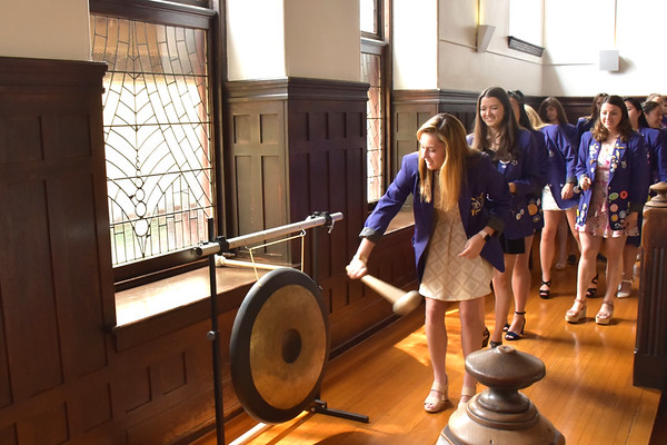 Alumnae Induction Lunch and Gong Ringing 2019