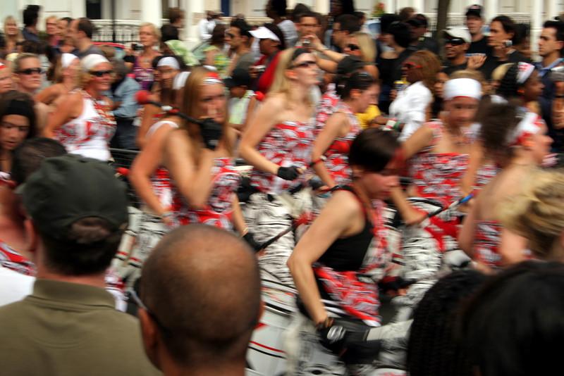 Bateria at Notting hill Carnival