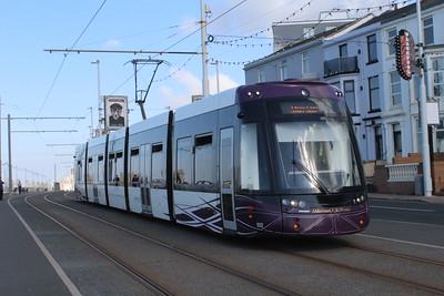 Blackpool Flexity Trams
